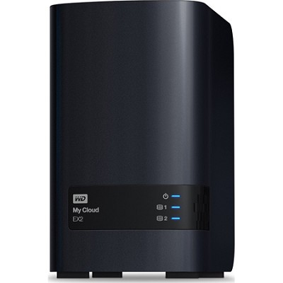 My Cloud EX2 8 TB Personal Cloud Storage