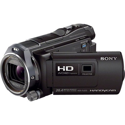 HDR-PJ650V 32GB Full HD Camcorder 20.4 MP stills with Projector
