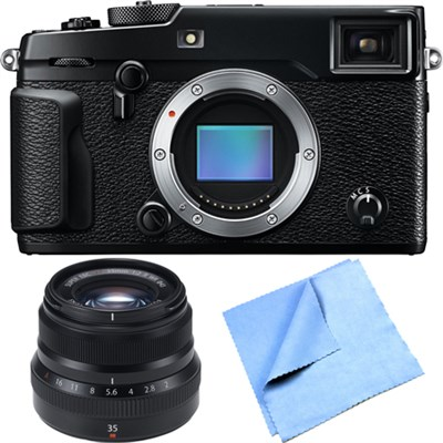 X-Pro 2 Mirrorless Digital Camera Body w/ FUJINON XF35mmF2 R WR Lens Bundle