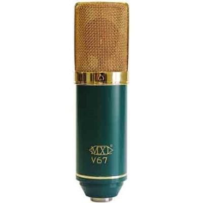 Large Capsule Condenser Microphone - MXL V67-G