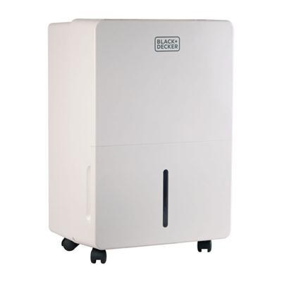 BD 45 Pint Dehumidifier White