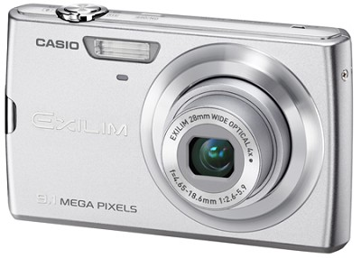 Exilim Z250 9.1 Megapixel Camera (Silver)