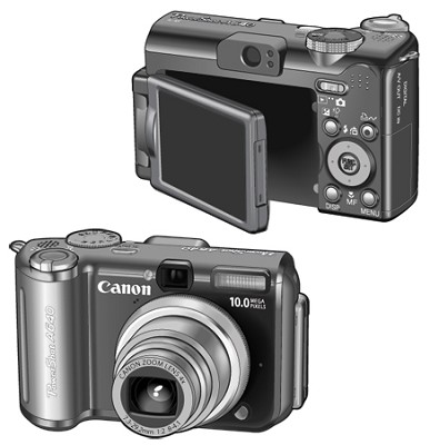 Powershot A640 Digital Camera