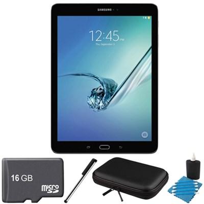 Galaxy Tab S2 9.7-inch Wi-Fi Tablet (Black/32GB) 16GB MicroSD Card Bundle