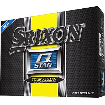 Q-Star Tour Yellow Gold Balls - 12 Pack