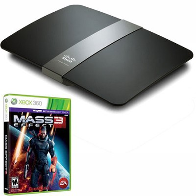 Maximum Performance Dual-Band N900 Router (E4200v2) + Mass Effect 3 for XBox 360