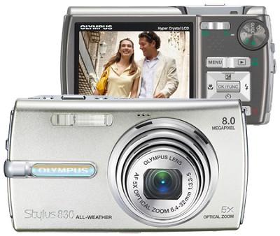 Stylus 830 Digital Camera (Silver)