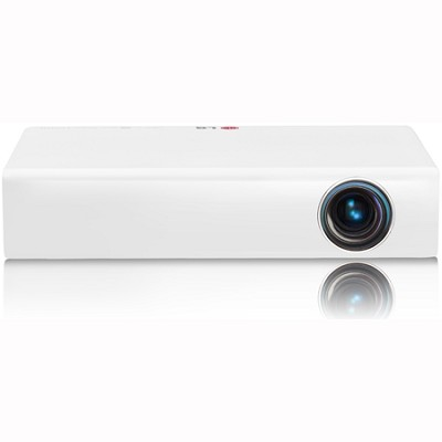 PA77U WXGA 3D LED Projector with Smart TV  Built-In TV Tuner Factory Refurbished