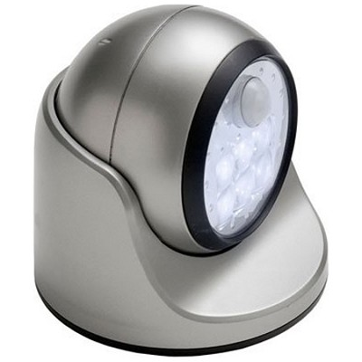 20031-101 Motion Sensor LED Porch Light - Silver