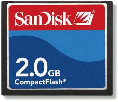 2 GB Compact Flash Memory Card