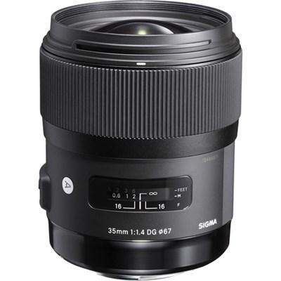 Art 35mm F/1.4 DG DG HSM Wide-Angle Lens for Sony E Mount Cameras