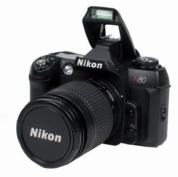 N80 W/ 28-80 Nikon  LENS ORIGINAL CAMERA KIT WITH ONE YEAR NIKON USA WARRANTY