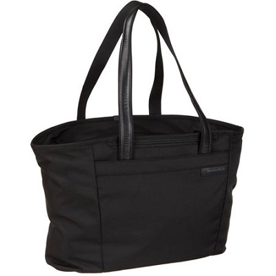 255 Baseline 17` Large Shopping Tote - Black