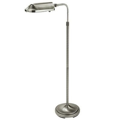 Heritage Deluxe Natural Spectrum Floor Lamp in Antiqued Brushed Nickel - VF03GG5