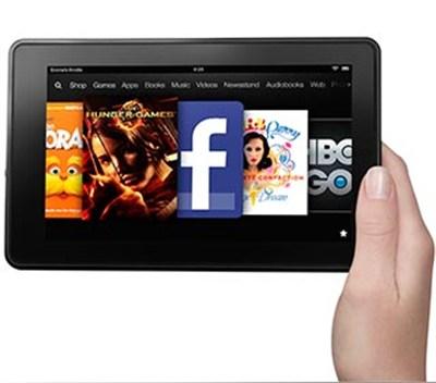 Kindle Fire, 7` LCD Display, Wi-Fi, 8GB - OPEN BOX