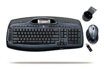 Cordless Desktop MX5000 Laser Mouse and Keyboard