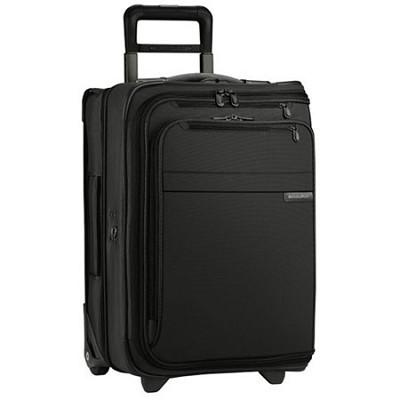U175-4  Baseline 21` Domestic Carry-On Upright Garment Bag - Black