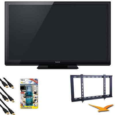 TC-P60ST30 60` VIERA 3D FULL HD (1080p) Plasma TV HDTV Bundle