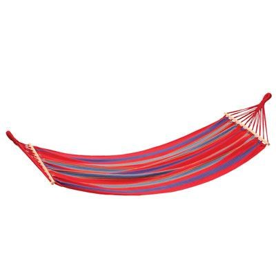 `Bahamas` Single Cotton Hammock in Red - 30800-60
