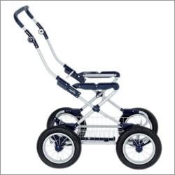 Ergo Metal Bike Easy Clip with basket and pump (Blue)