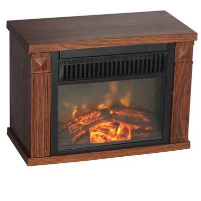 Comfort Glow Bookshelf Mini Fireplace - EMF160