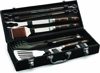 10-Piece Premium Grilling Set - OPEN BOX (NEW not used )