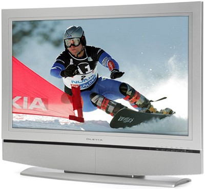 337H - 37` HD Ready Flat panel LCD TV Monitor (No Tuner)