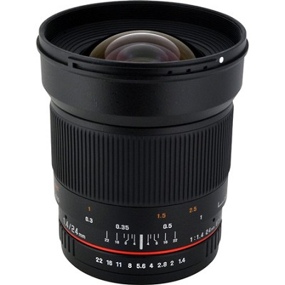 24mm f1.4 Photo Lens for Micro Four-Thirds Mount