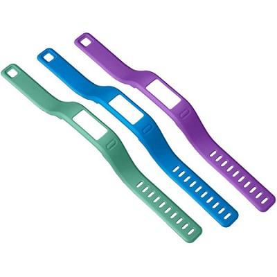Vivofit Large Wristbands (Purple/Teal/Blue) - 010-12149-00
