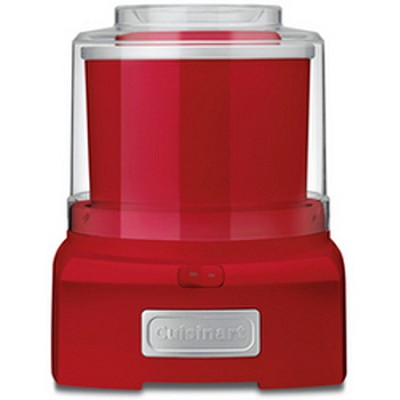 ICE-21R - Frozen Yogurt-Ice Cream & Sorbet Maker, Red