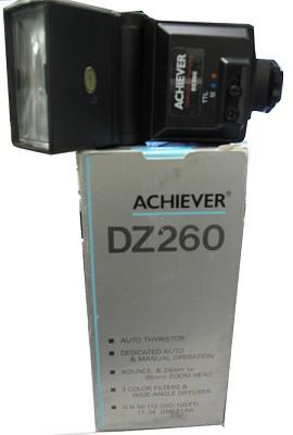 DZ260 TTL Shoe Mount Flash (Guide #112'/34 m) for Nikon - OPEN BOX