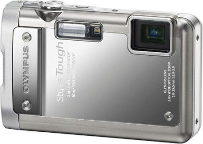 Stylus Tough 8010 Waterproof Shockproof Freezeproof Silver Camera REFURBISHED