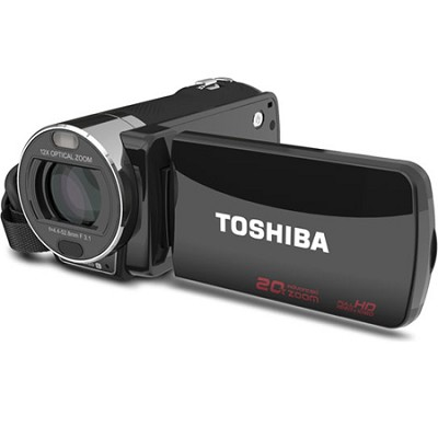 CAMILEO X200 Digital Camcorder, Black