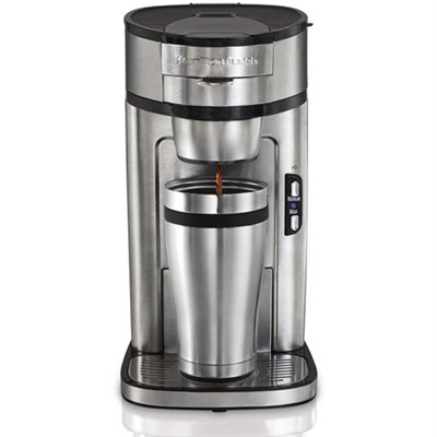 Coffee Maker How Many Scoops Per Cup : BuyDig.com - Hamilton Beach Scoop Single-Cup Coffee Maker - Factory Refurbished