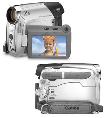 ZR850 Mini-DV Digital Camcorder
