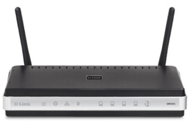 Wireless N Router, 4-Port 10/100 Switch, 2 Antennas, Draft 802.11n