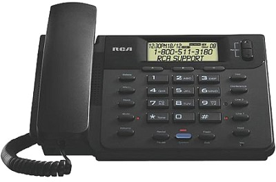 2-line Corded Phone Speakerphone Caller ID