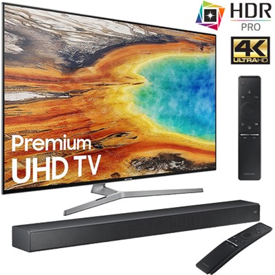 UN55MU9000 55-Inch 4K Ultra HD Smart LED TV (2017) + HW-MS750  Soundbar