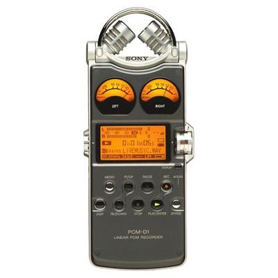 PCM-D1 Portable Linear PCM Recorder
