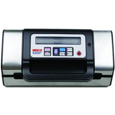 American Harvest 130W Deluxe Vacuum Sealer (Black/Silver) VS-12