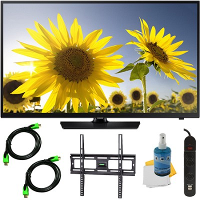 UN48H4005 - 48-inch HD 720p LED TV CMR 60 Plus Mount & Hook-Up Bundle