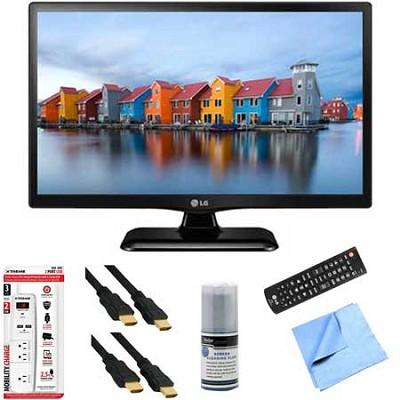22LF4520 - 22-Inch 1080p Full HD 60Hz LED TV Plus Hook-Up Bundle