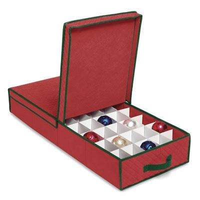 Gift Wrap and Ornament Box