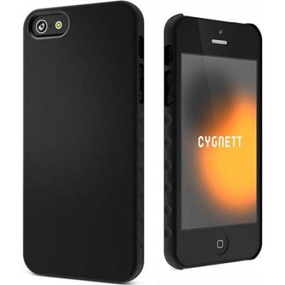 Black AeroGrip Feel Snap-on iPhone 5 Case
