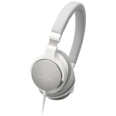 ATH-SR5WH On-Ear High-Resolution Audio Headphones - White