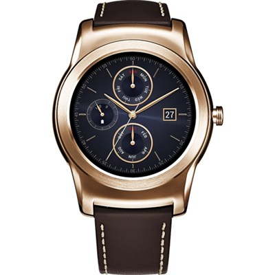 Watch Urbane Android Smartw P-OLED GorillaGlass Dis.Wi-Fi (Gold) W150 - OPEN BOX