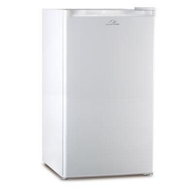 CC 3.2 cuFt Compact Refrigerator Mini Bar Office Fridge Freezer - White