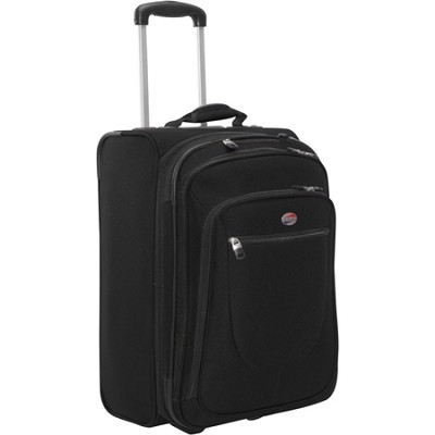 Splash 21 Upright Suitcase (Black)