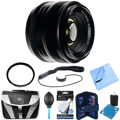 Fujinon XF 35mm (53 mm) F1.4 X-Mount Lens Bundle
