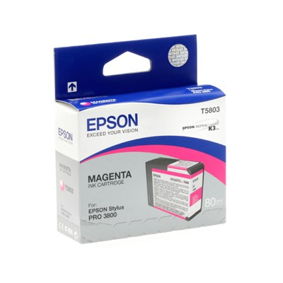 Magenta UltraChrome K3 Ink Cartridge (80ml) for Stylus 3800